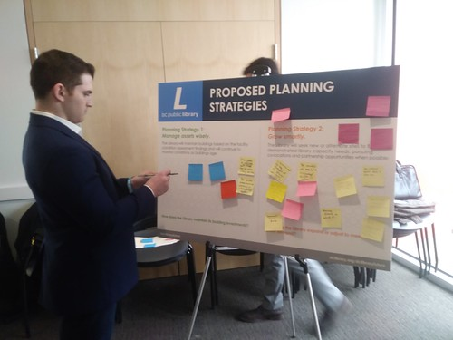 DC Public Library Public Facilities Master Planning process, Woodridge Library, March 2nd, 2019