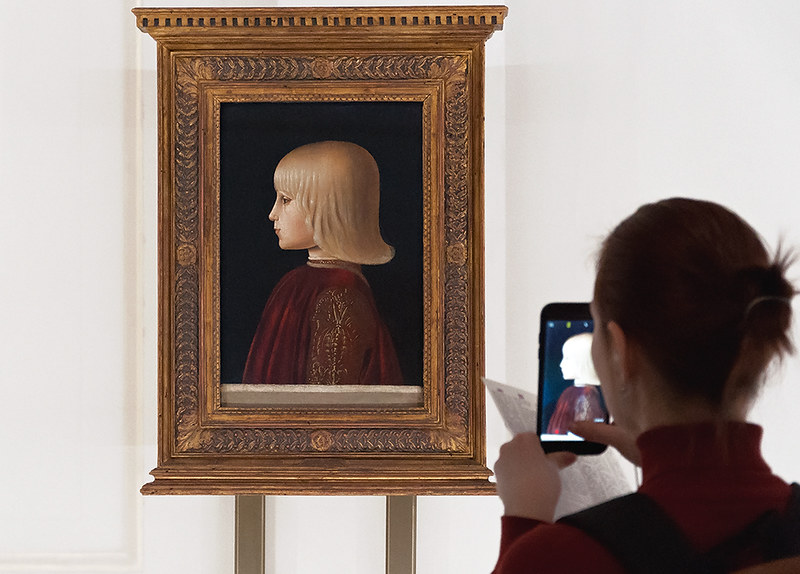 Портрет Гвидобальдо да Монтефельтро. Ок. 1483. Музей Тиссена-Борнемисы, Мадрид