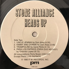 STONE ALLIANCE:HEADS UP(LABEL SIDE-B)