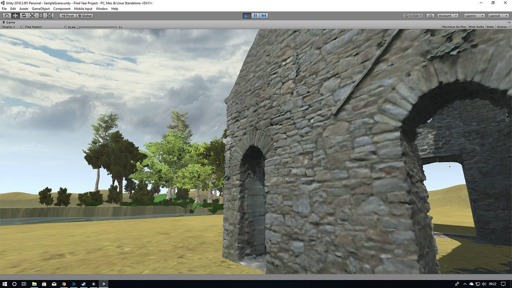DAT612 - Unity Environment Scale Test - Matthew French