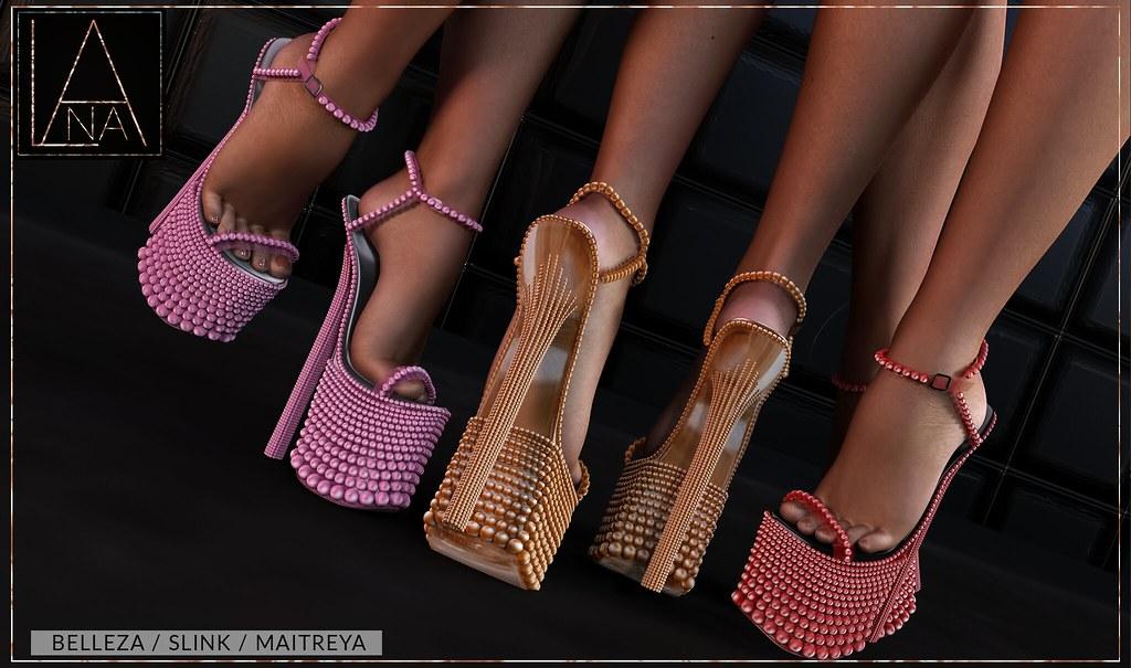 #LANA // The Fawn Heels ♥ - TeleportHub.com Live!