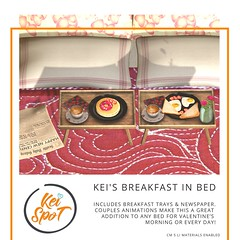 Kei's Breakfast in Bed