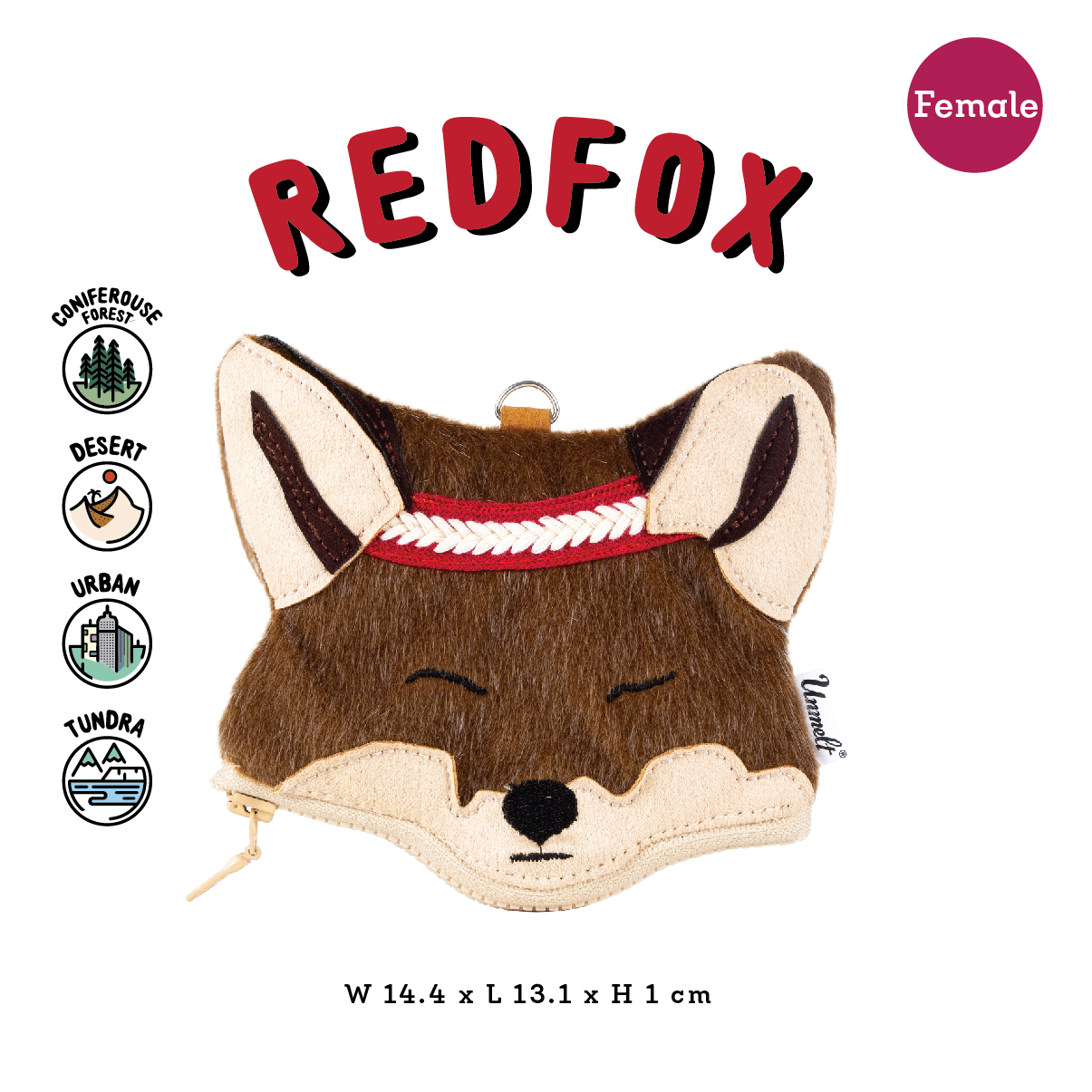 redfox female