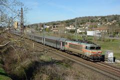 BB 22331 + Intercités 4661, Grisolles, Sunday 3 March 2019