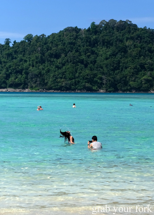 Boyfriends on Insta in the Surin Islands National Park in Khao Lak, Thailand