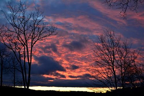 westpond sunset sunsetsky aftersunset nature naturephoto naturephotography landscape landscapephoto landscapephotography januarysunset january maine