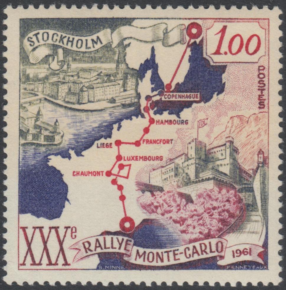 Monaco - Scott #483 (1961)