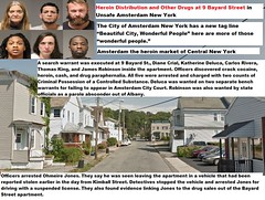 Heroin Distribution and Other Drugs at 9 Bayard Street in Unsafe Amsterdam New York