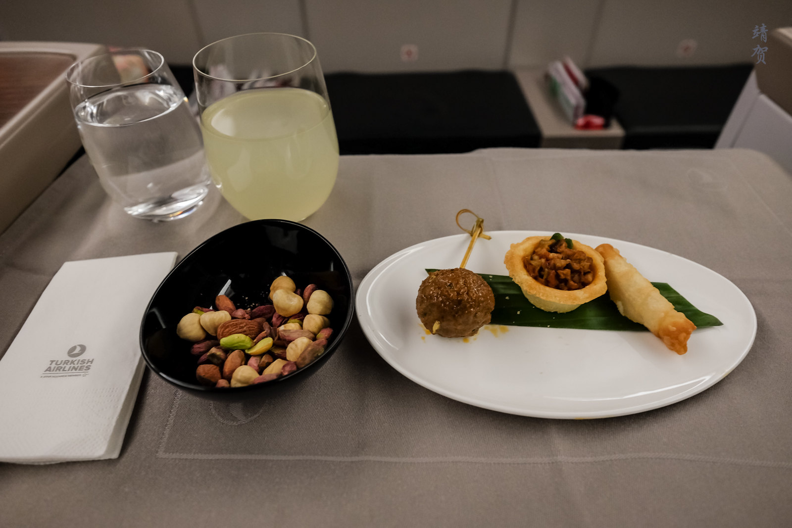 Amuse bouche and snacks