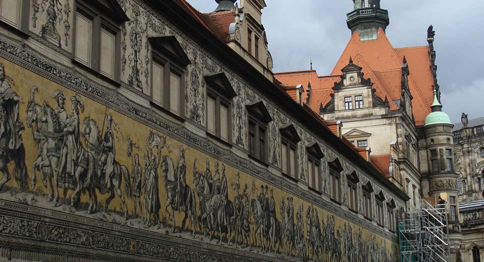 Dresden bezienswaardigheden, Schlosstraße | Mooistestedentrips.nl