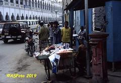 Streetscene in Al Mukalla, Yemen