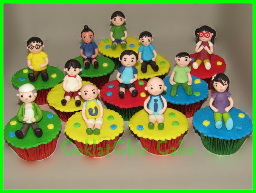 Cupcake Upin Ipin