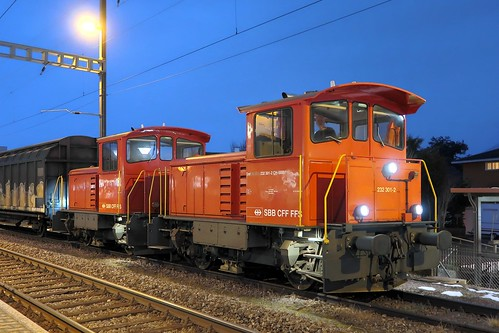 Heerbrugg - SBB Shunter Tmf 232
