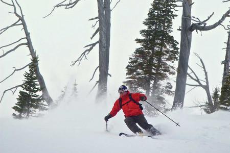Castle Mountain (USA): lyžařské středisko svýhradně strmým terénem