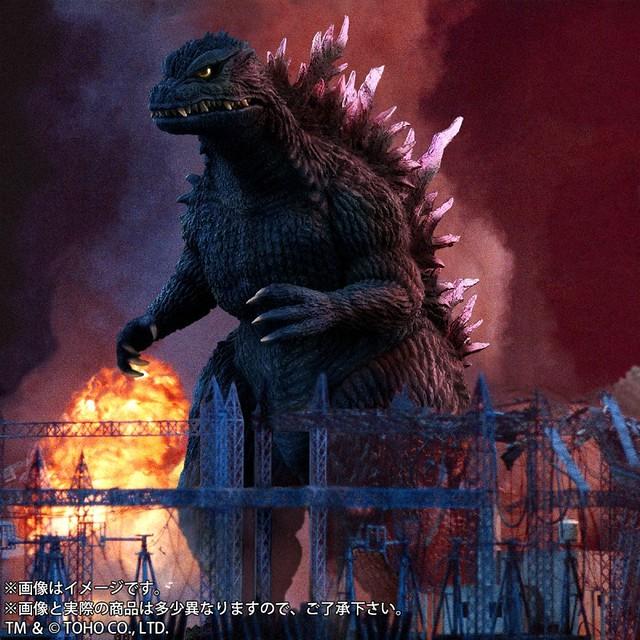 千禧歸來的怪獸王 X-PLUS 東寶大怪獸系列《哥吉拉2000》 哥吉拉(1999)|ゴジラ(1999)  PVC軟膠完成品