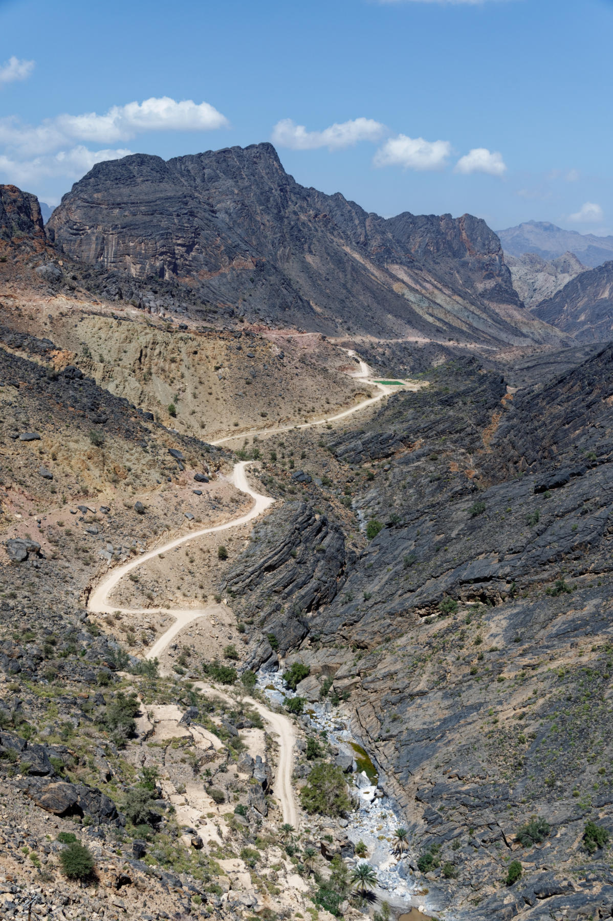 Hajar Mountain Road, Oman