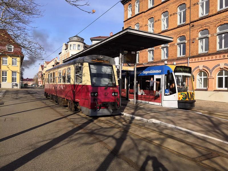 HSB und Straßenbahn