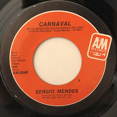 SERGIO MENDES:NEVER GONNA LET YOU GO(LABEL SIDE-B)