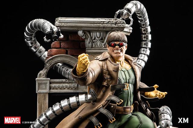 完美展現對機械爪臂的精密控制!! XM Studios Premium Collectibles 系列 Marvel【八爪博士】Doctor Octopus 1/4 比例全身雕像作品