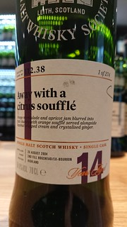 SMWS 112.38 - Away with a citrus soufflé