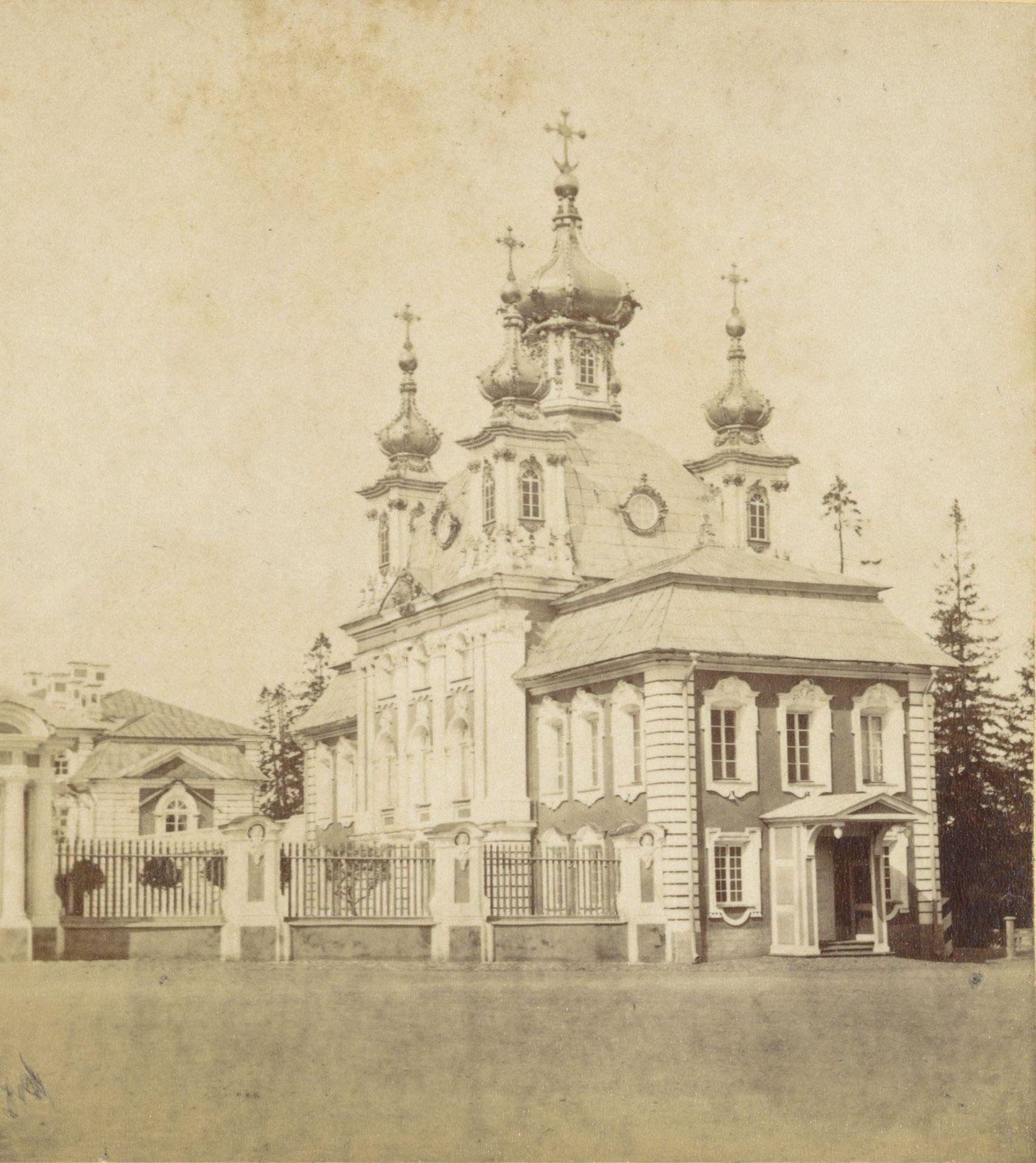 Петергоф. Дворцовая церковь