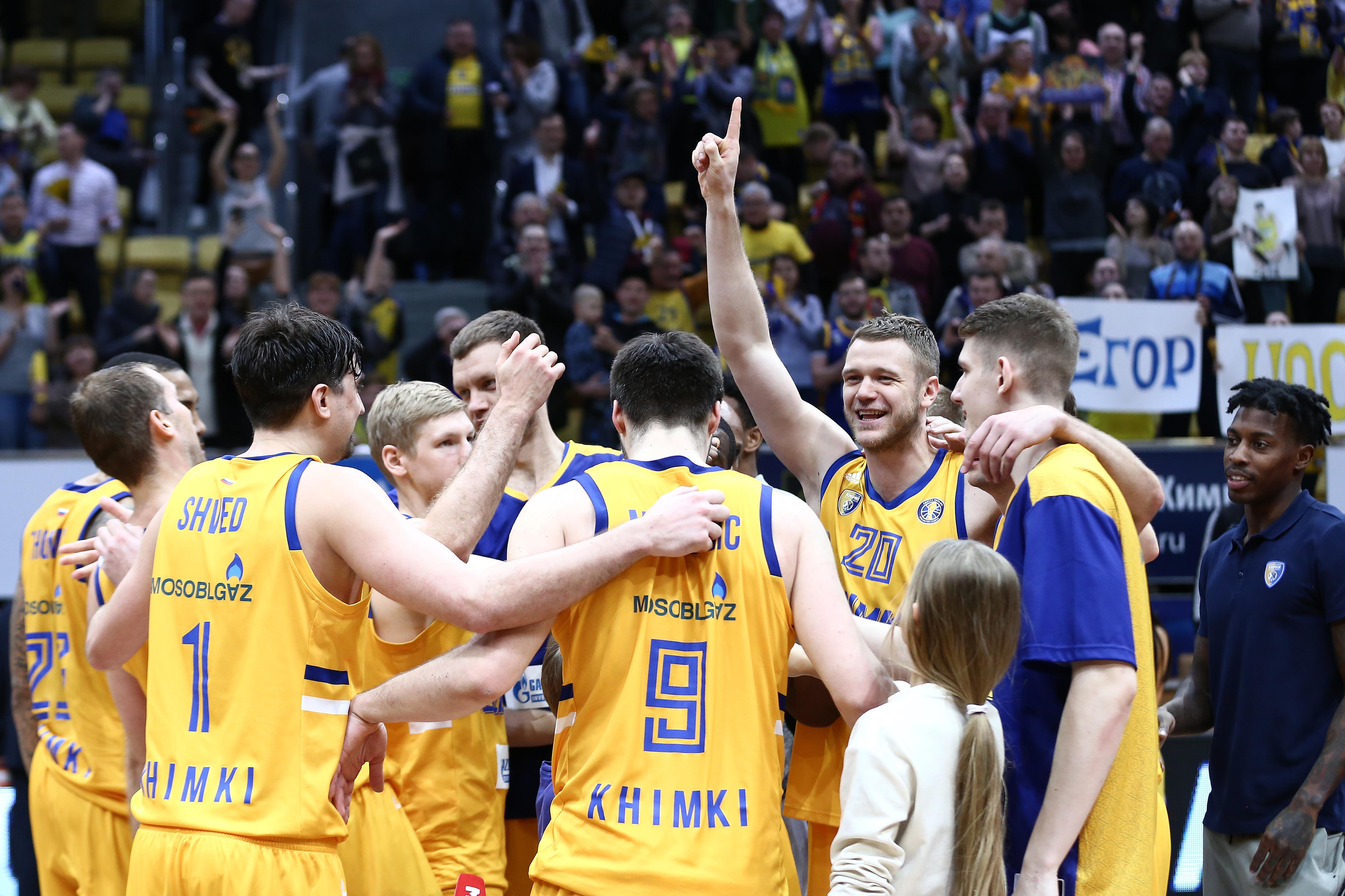 04/03/2019 Khimki-CSKA 73:72
