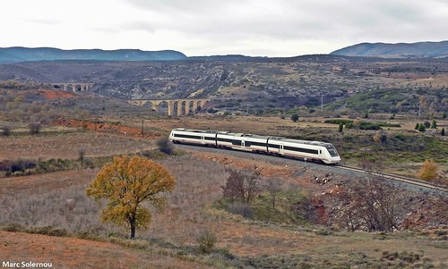 RENFE 599 - Albentosa 09/12/2011
