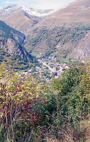 France, la station de ski de Valloire en Savoie