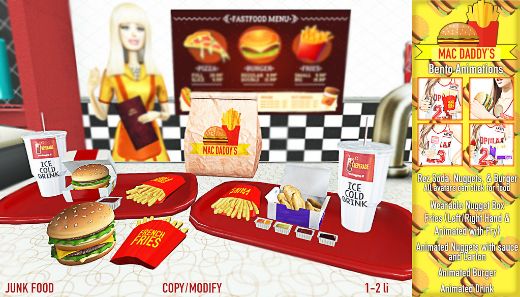 Junk Food – MacDaddy Fast Food Pack Ad
