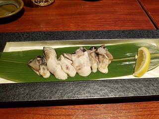 Kaki auch als Sashimi