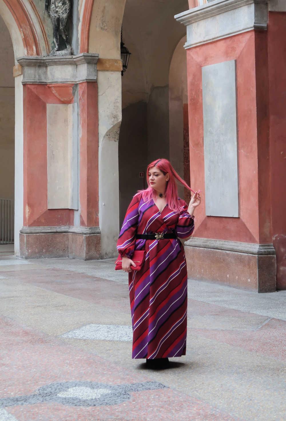 outfit viole e rosso (7)