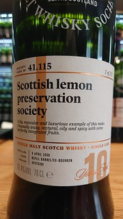 SMWS 41.115 - Scottish lemon preservation society