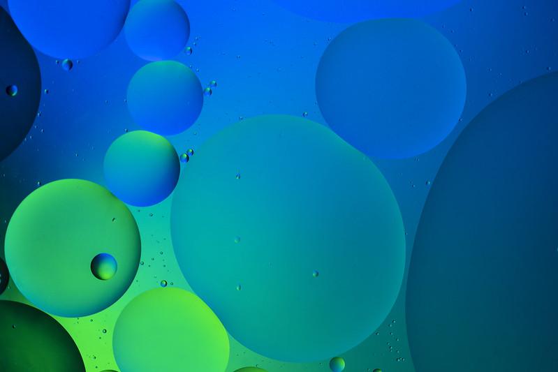 Green Beachhead - Oil on Water