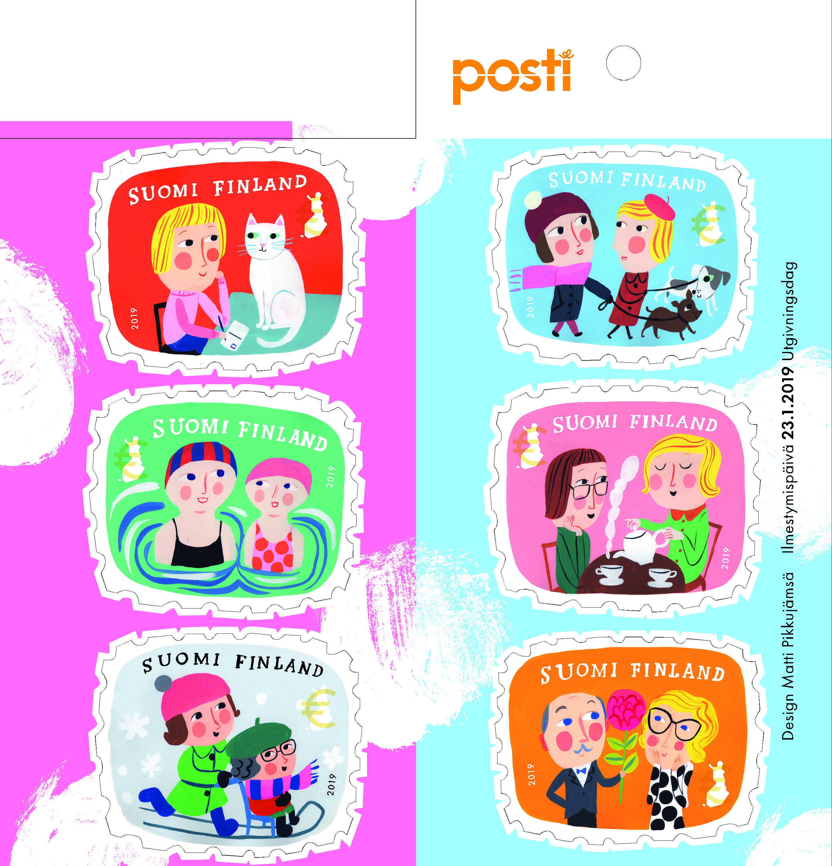 Finland - Shared Joy (January 23, 2019) booklet of 6