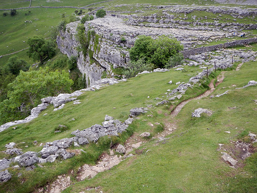 the puzzle rocks on our Malham walk in the Yorkshire Dales of England