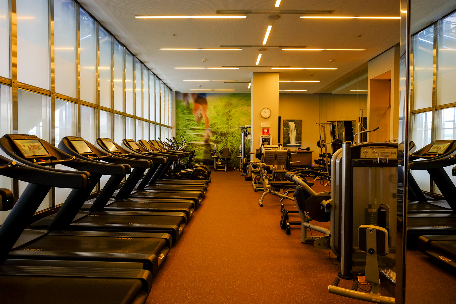 Inside the Fitness centre