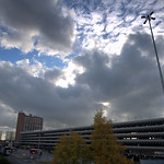 Clouds over Preston Bus Station