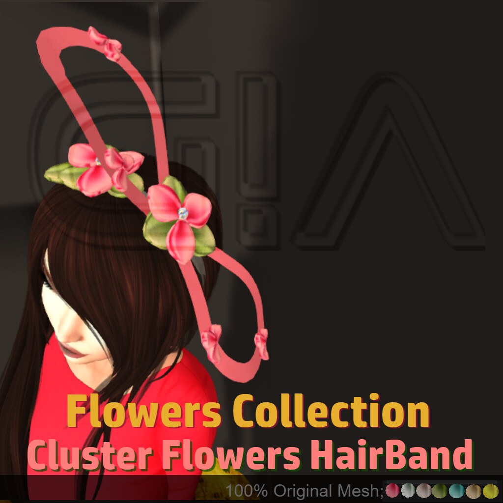 Cluster Flowers Hairband Vendor