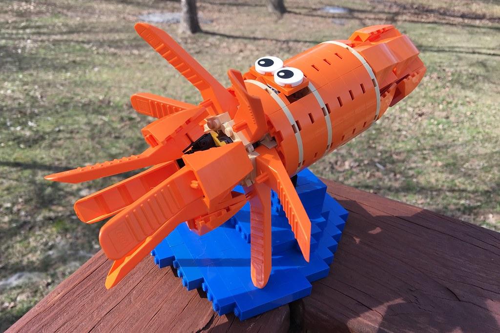 MOC: Brick separator Squid