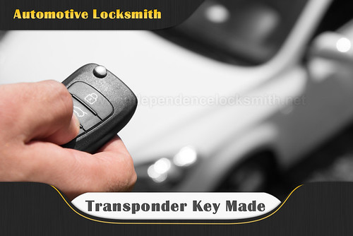 Independence Transponder Key Made - master locksmith