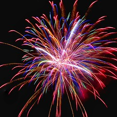 Fireworks Canon SX70 HS