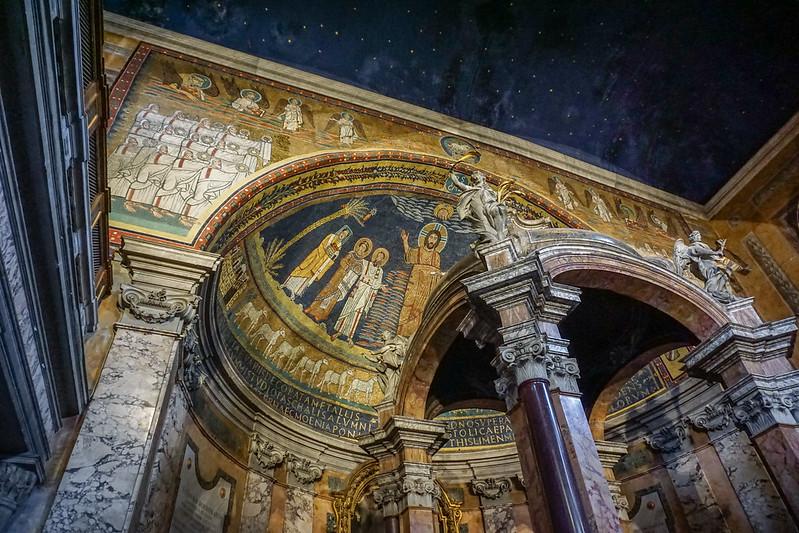 Basilica di Santa Prassede, Esquiline Hill, Rome, Italy