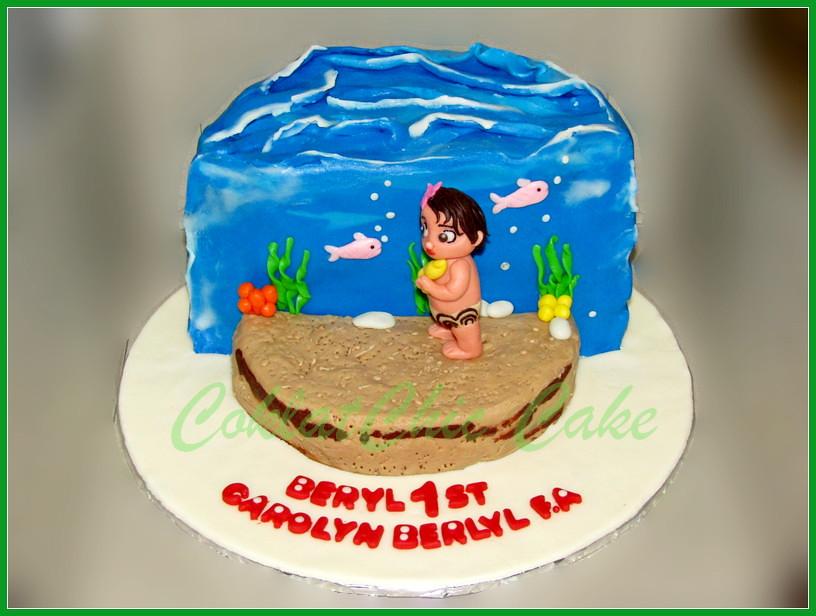 Cake baby moana CAROLYN 15 cm