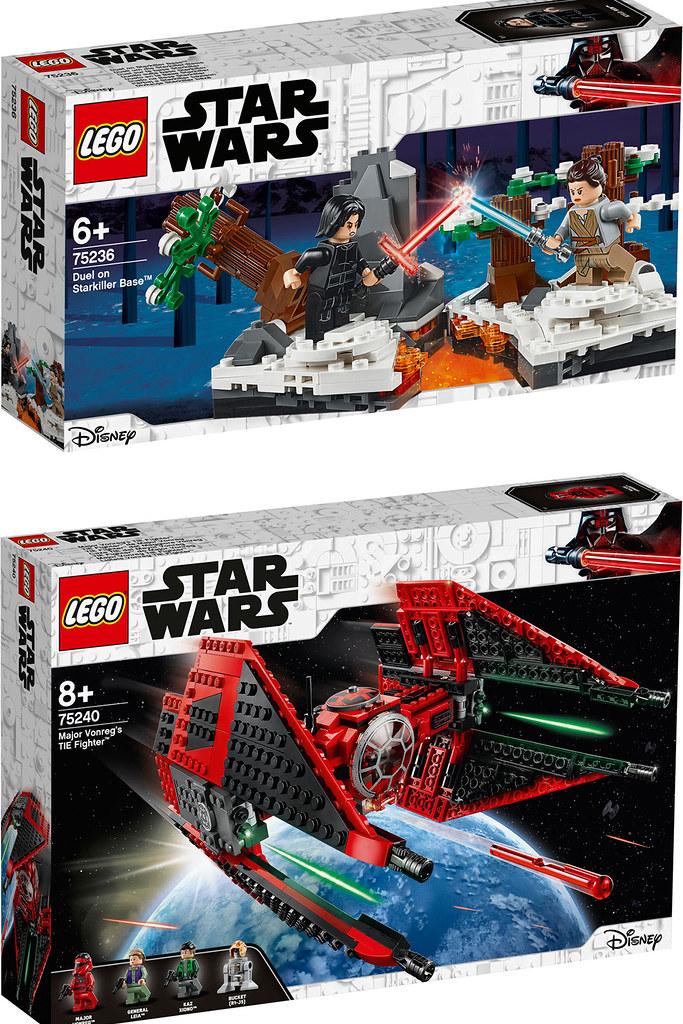 經典場景搭配射擊玩法,還有動畫影集《星際大戰:抵抗勢力》的新角色登場!LEGO 75236、75238~75242《星際大戰》Star Wars 2019年夏季盒組公開