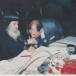 المهندس منير موسى يوسف أثناء مناقشة رسالة الماجستير