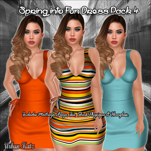 Spring into Fun Dress Pack 4 - TeleportHub.com Live!