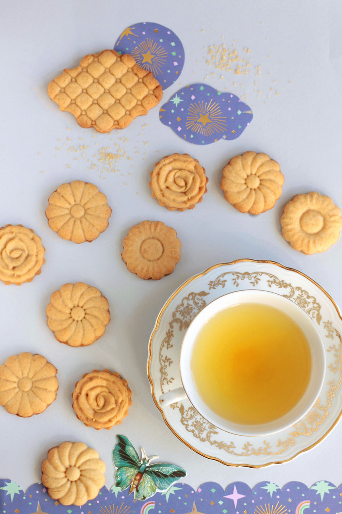 biscotti fioriti