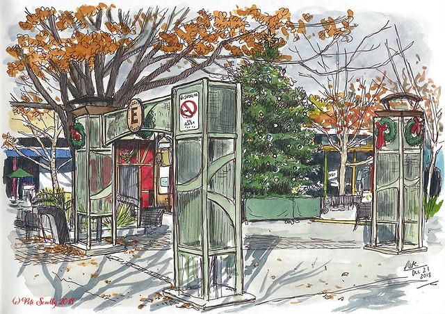 e street plaza davis