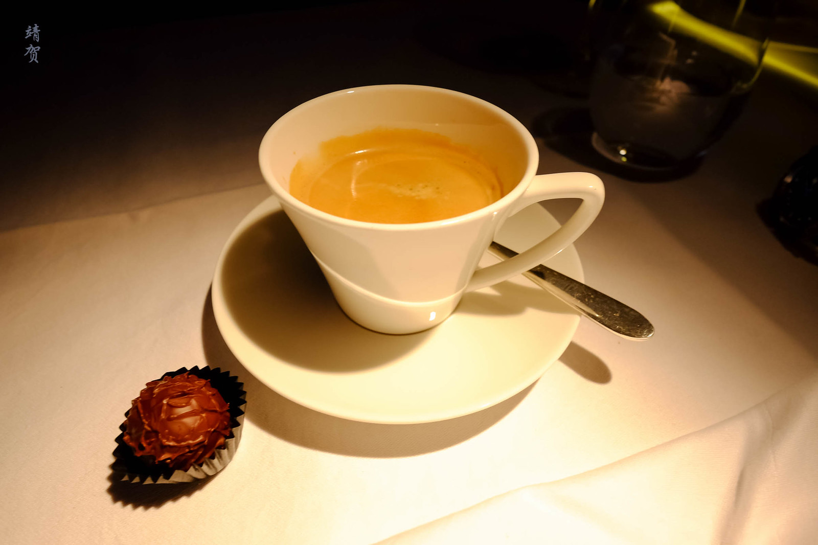 Nespresso and pralines