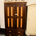 All dark wood comes with drawers E295